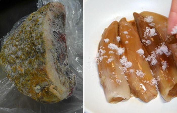 Копальхен - мясной деликатес народов Севера.