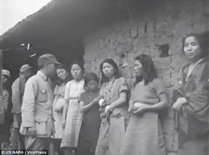 Секс рабство во времена войны