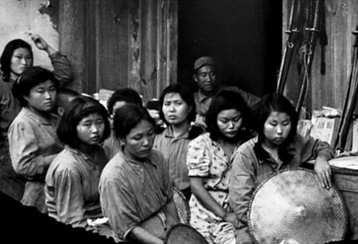 Корейские женщины в годы Второй мировой войны.