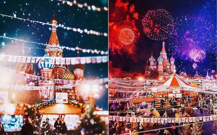 Праздничная Москва на снимках Кристины Макеевой