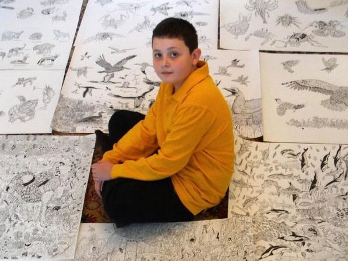 Dusan Krtolica и его рисунки