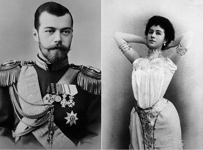 Матильда Кшесинская и Николая ІІ
