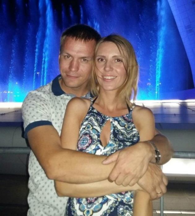 Антон и его вторая жена Людмила.