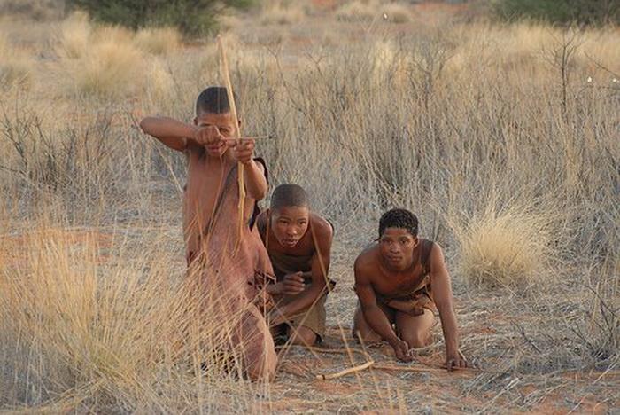Мужчины на охоте