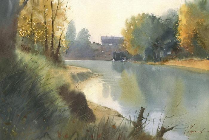 Осень на протоке