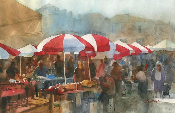 Рынок в Дубровнике