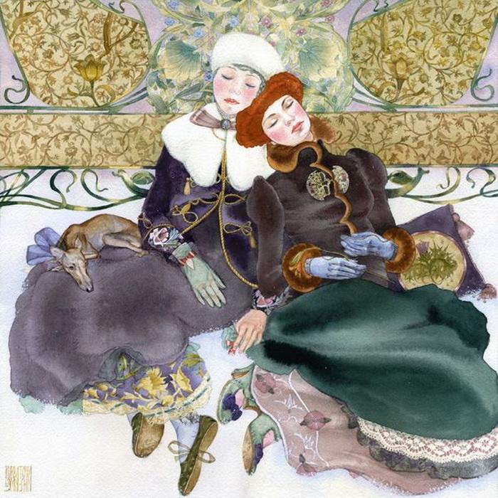 'Санкт-Петербург', Мария Курбатова