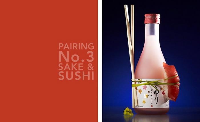 Саке и суши. Аппетитные фотографии еды и напитков от Кайла Дреира