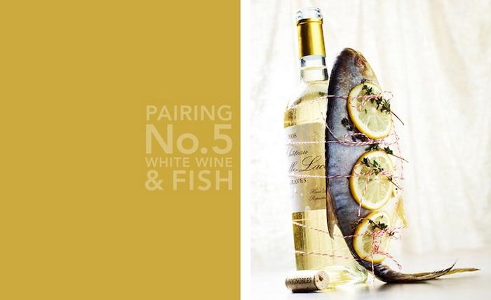 Белое вино и рыба. Аппетитные фотографии еды и напитков от Кайла Дреира