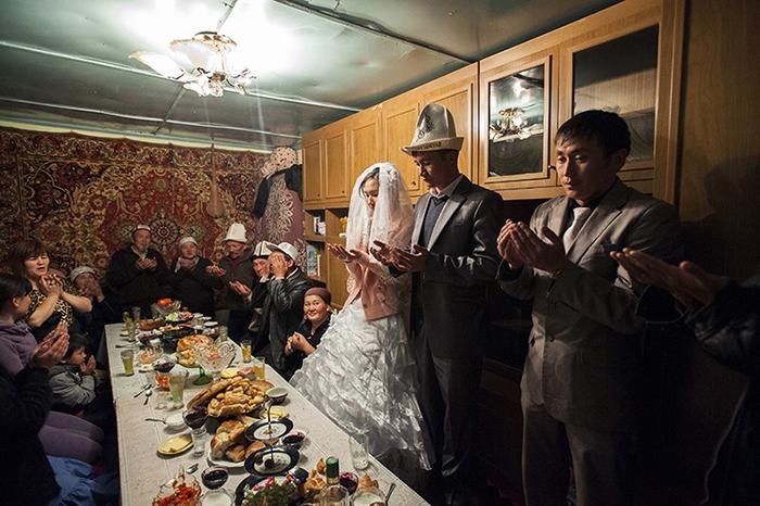 Традиционная молитва во время свадьбы.