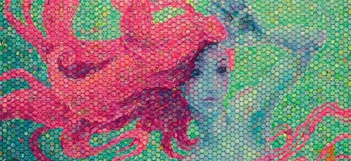 Мозаики в стиле импрессионистских картин