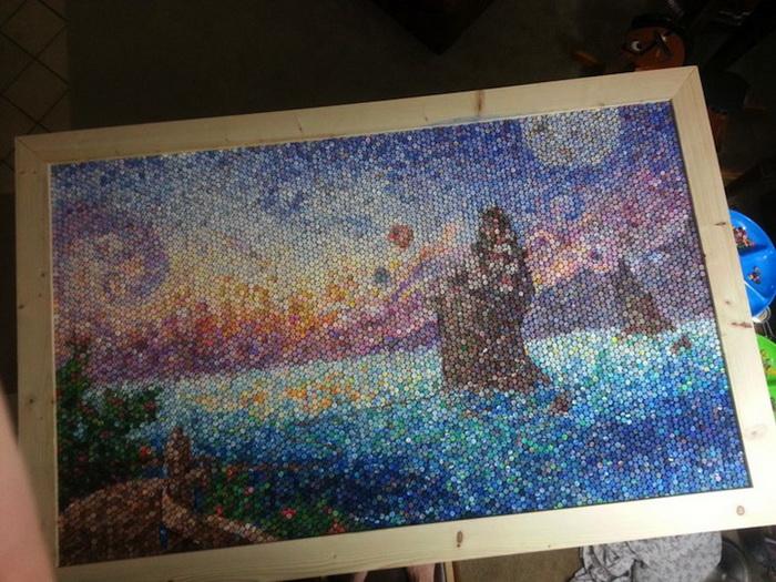 Dozayix: мозаика из пластилина