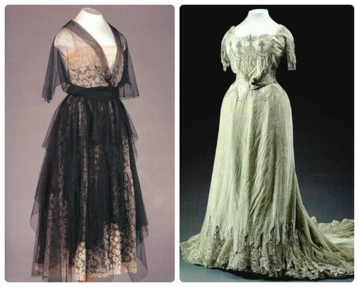 Роскошные платья от Надежды Ламановой