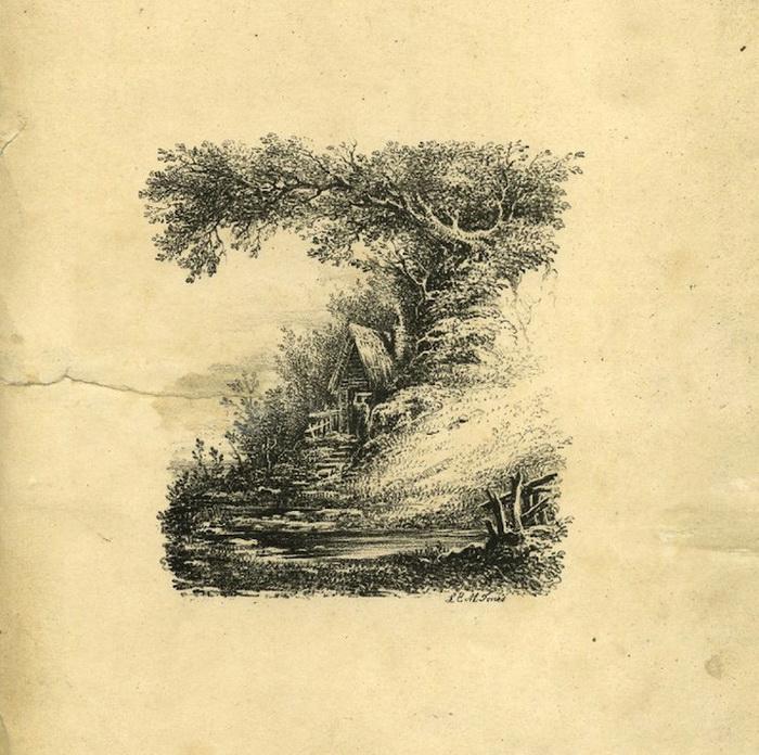 Английский алфавит от художника L.E.M. Jones