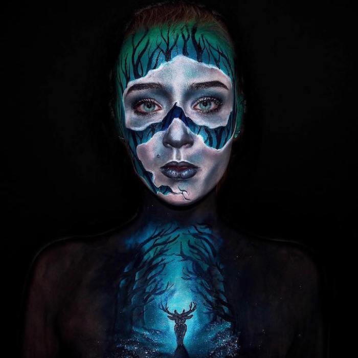 Жуткий боди-арт от Лары Вирт (Lara Wirth)