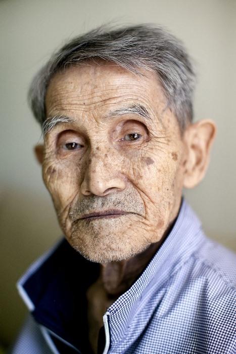Kang Neung-hwan, 94 года, воссоединился с сыном в феврале 2014 года.