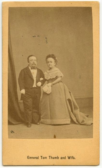 Генерал Том-Там и его жена.
