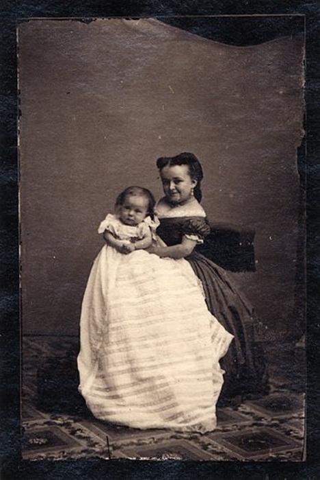 Ребенок Лавинии Уоррен от первого брака.