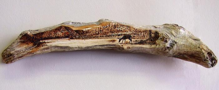 Выжигание по дереву: пирография от LeRoc ...