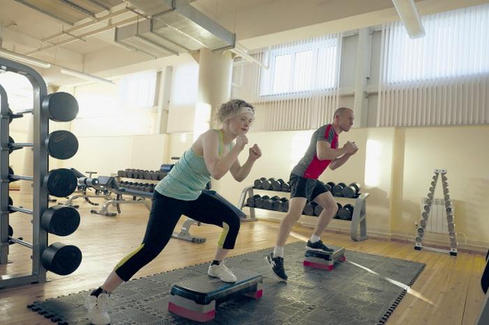 Лейсан Зарипова на фитнес-тренировке. Фото: kazan.aif.ru