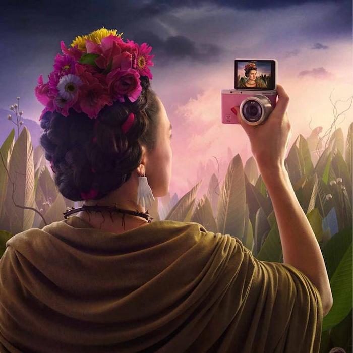 Фрида Кало: креативная реклама камеры Samsung от рекламного агентства Leo Burnett