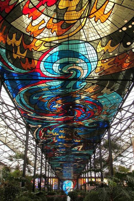 Ботанический сад в Толука-де-Лердо построен по инициативе художника Леопольдо Флореса