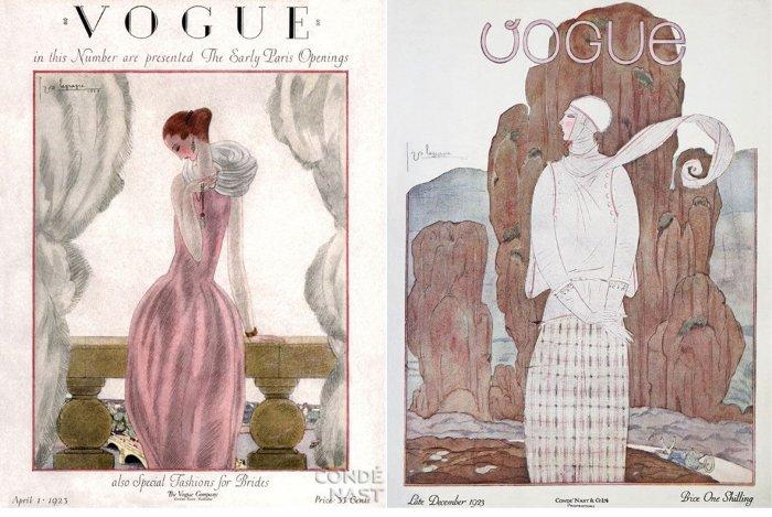 Обложки журнала Vogue, иллюстратор Жорж Лепап (Georges Lepape)