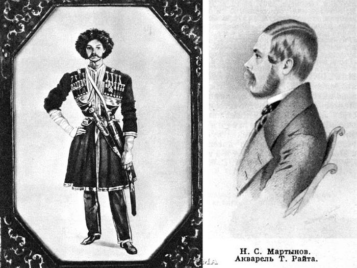 Н.С. Мартынов - убийца Лермонтова