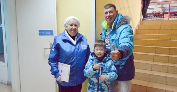 Лидия Волкова - серебряный волонтер. Фото: daily.afisha.ru
