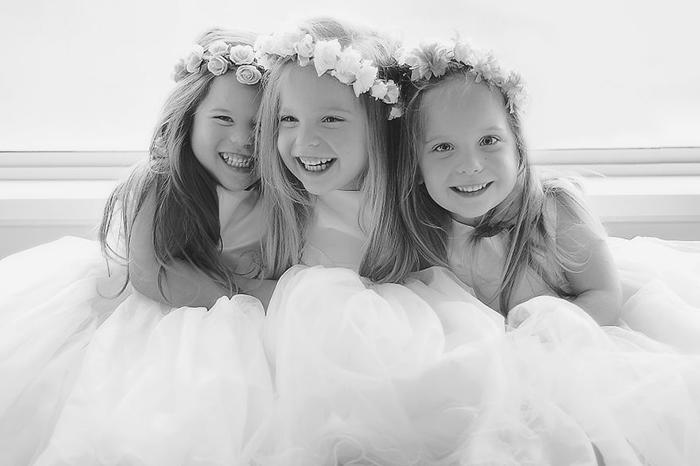 Фотографии дочерей-тройняшек от любящей мамы