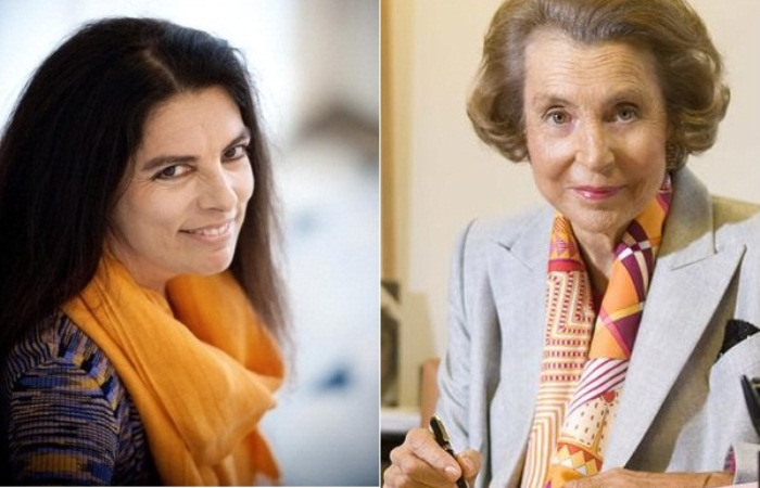 Портреты Франсуазы и Лилиан Беттанкур.