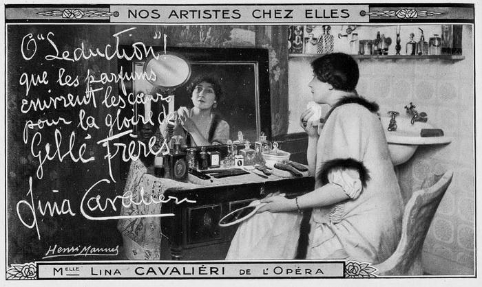 Лина Кавальери - всемирно известная оперная певица