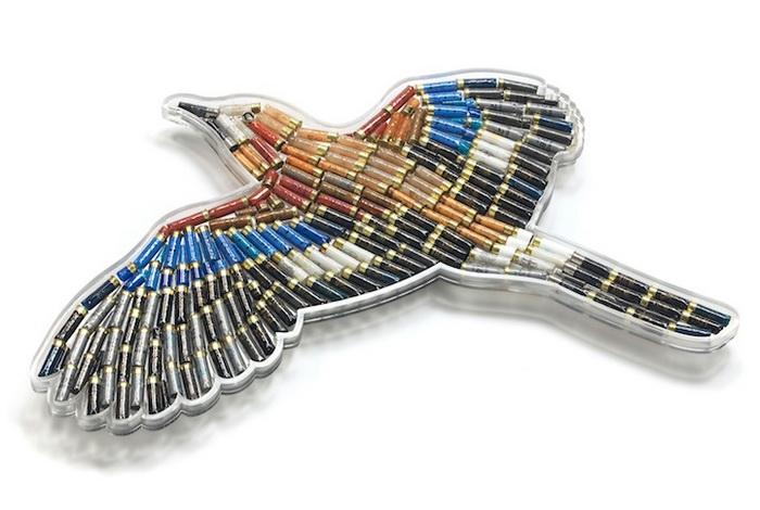 Арт-объекты из отработанных пуль от Linton Meagher