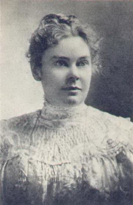 Портрет Лиззи Борден.