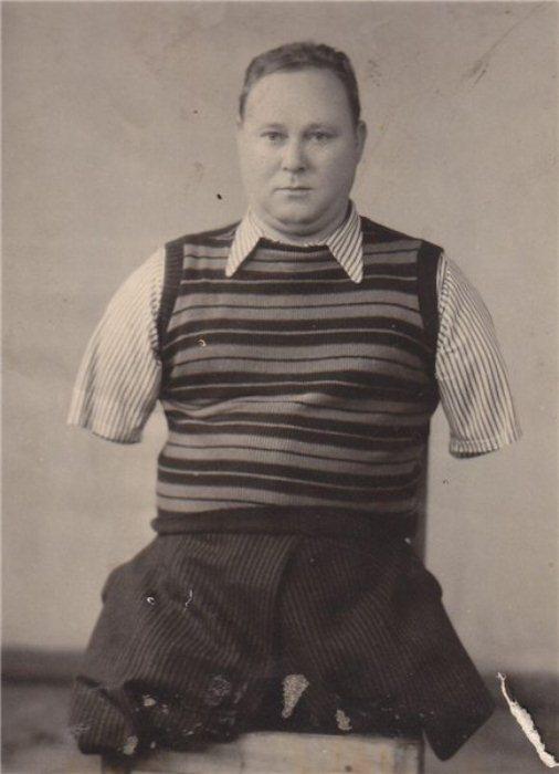 Василий Лобачев - герой войны.