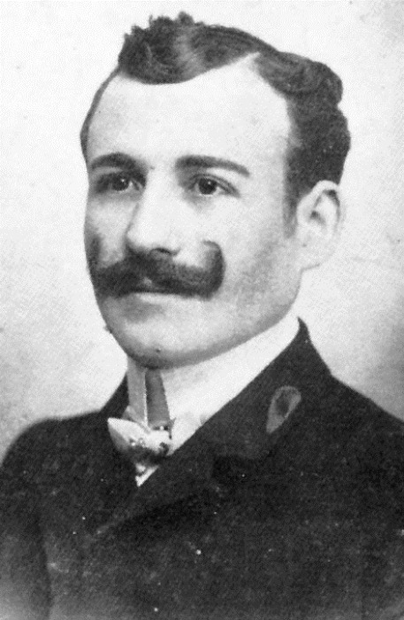 Портрет Мишеля Навратиль.