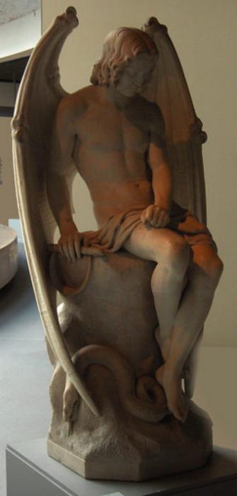 Падший ангел в восприятии Жозефа Гейфса