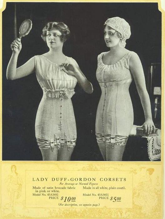 Люсиль много работал над дизайном женского нижнего белья