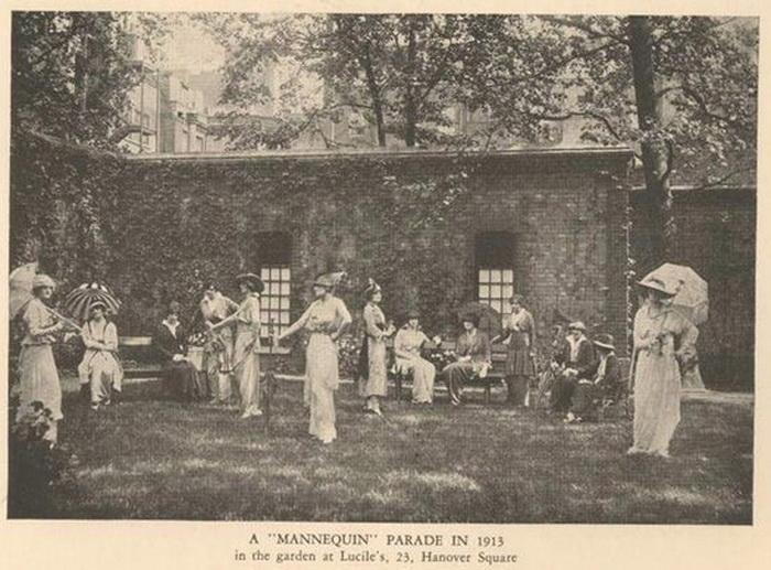 Показ мод, 1913 год