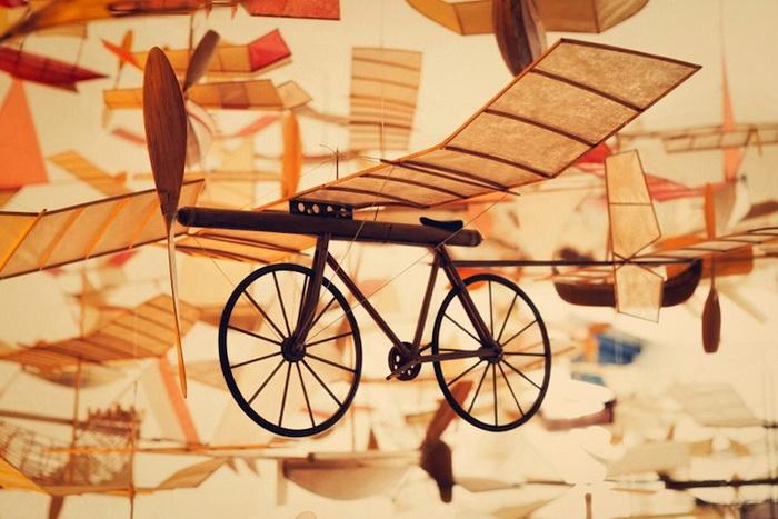 Крылатый велосипед