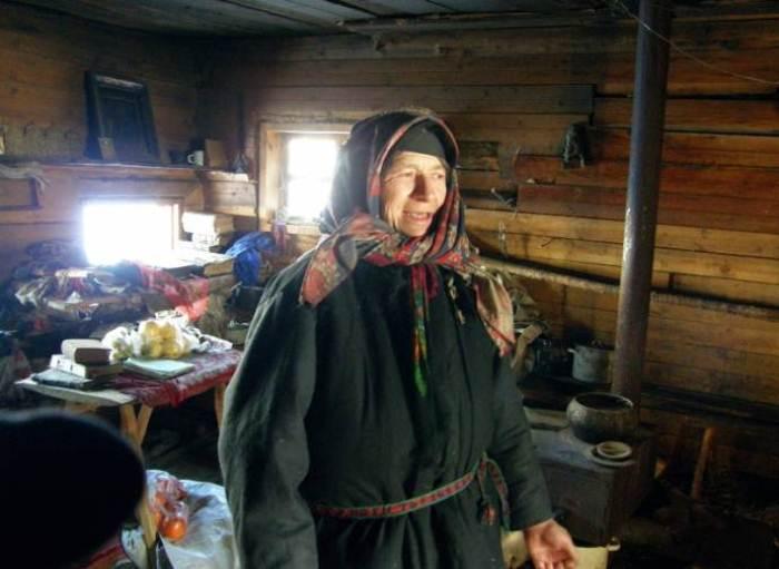 Агафья Лыкова в доме