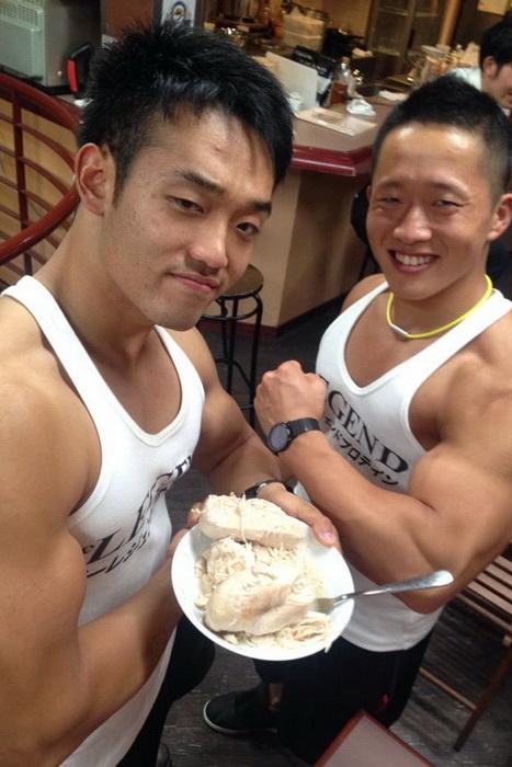 В меню - протеиновые блюда