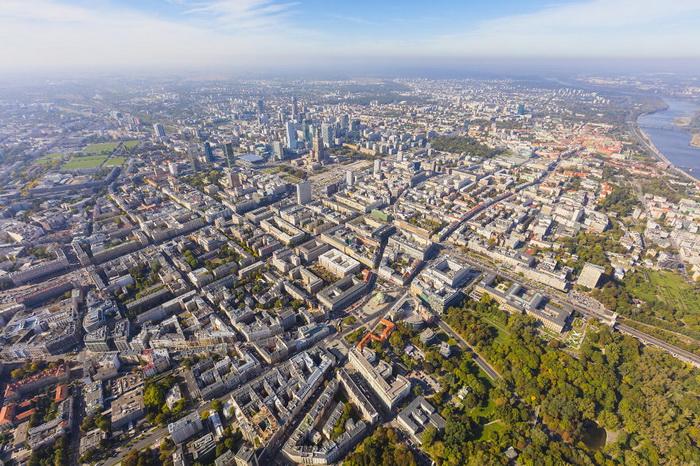 Захватывающая панорама мегаполиса