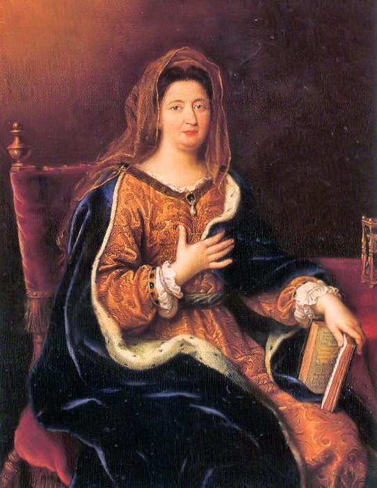 Портрет маркизы Ментенон кисти Пьера Миньяра