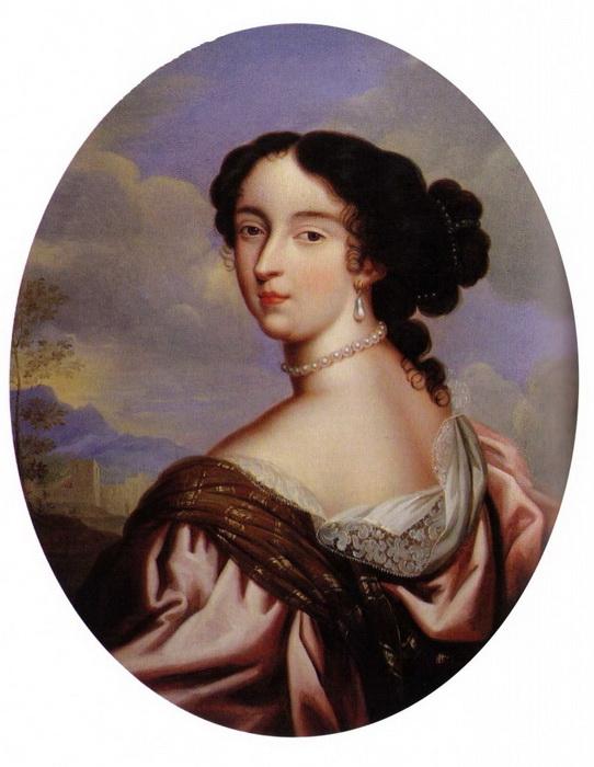Юная Франсуаза Скаррон