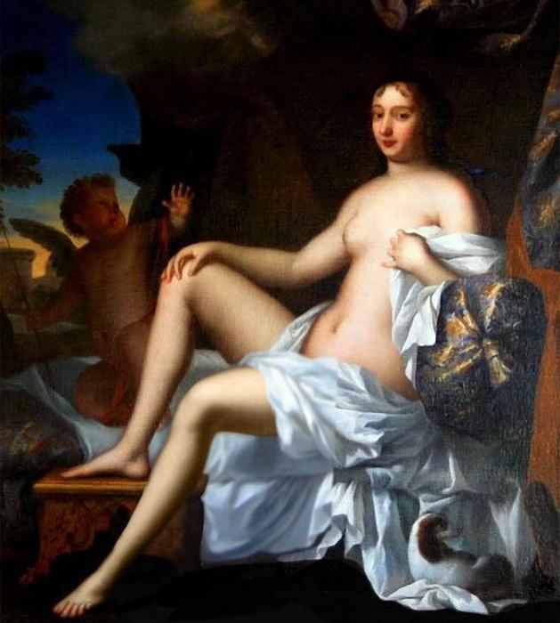 Обнаженный портрет Франсуазы