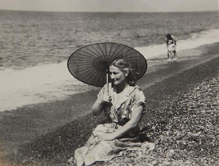 Наталья Малышева на море. Фото: newphoenix.ru