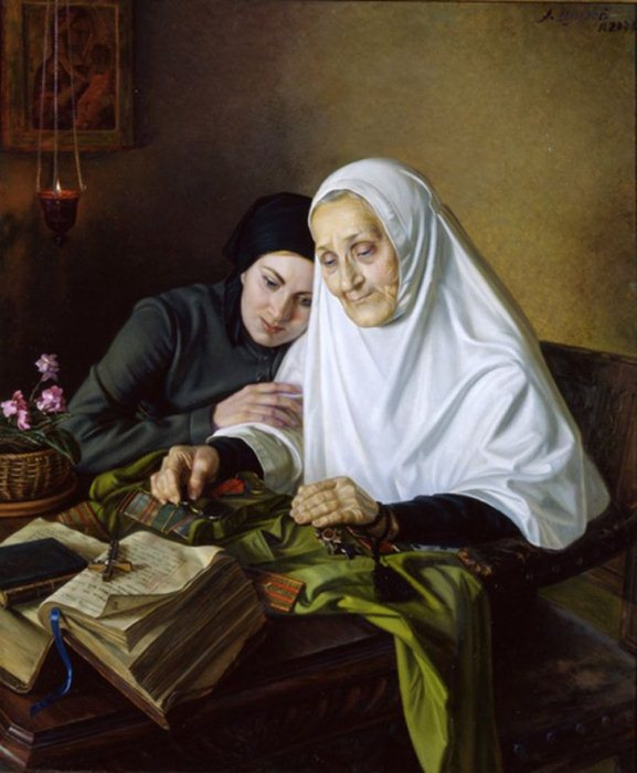 За Веру и Отечество. Картина художника А.М.Шилова. Фото: newphoenix.ru