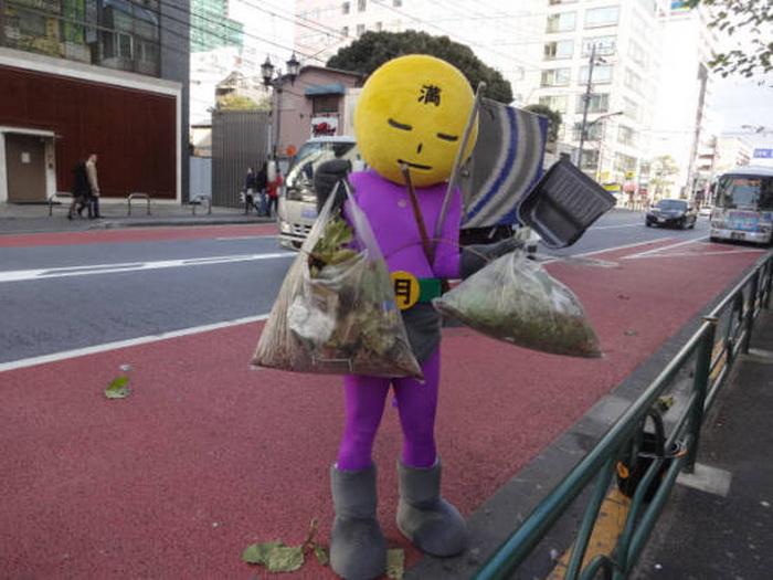 Mangetsu Man - борец за чистоту