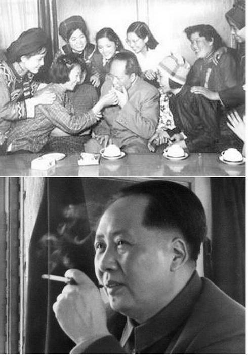 Мао Цзэдун В окружении женщин